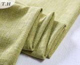 Disegno di tela verde del tessuto per il sofà e la presidenza
