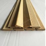 Forces de défense principale non finies de moulage en bois avec des accessoires de plancher de nez d'escalier de placage de chêne