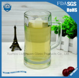 Glas des hohen Grad-600ml, Bier-Glas-Cup mit Griff