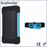 Водоустойчивый крен солнечной силы 8000mAh с двойным USB держит (XH-PB-168)