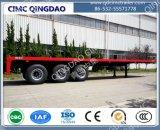 40FT 2/3/4 Aanhangwagen van de Vrachtwagen van Platmorm van de As Flatbed Semi