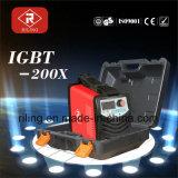 플라스틱 상자 (IGBT-120X/140X/160X)를 가진 MMA 변환장치 용접 기계