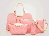 Bolsa ajustada do couro da bolsa do desenhador dos sacos do estilo 4PCS da forma (BDMC096)