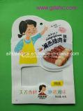Saco plástico de empacotamento líquido do alimento do frasco da forma especial