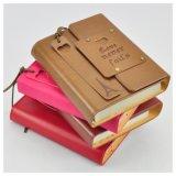 Impression respectueuse de l'environnement en cuir de cahier de livre À couverture dure d'unité centrale