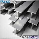 알루미늄 알루미늄 밀어남 단면도 I 및 H 광속