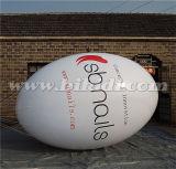 prezzo elevato K7056 della fabbrica dell'aerostato dell'elio del PVC di ovale di 3m