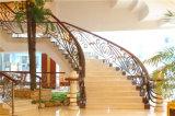 Haohan modificó la barandilla de acero galvanizada australiana europea elegante 8 de la escalera para requisitos particulares