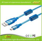 Câble Transparent USB Am to Af