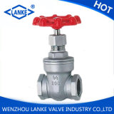 200psi Gate Valve mit NPT/Bsp/BSPT Thread