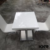 2 Sitzmoderner Möbel-Marmor-Steinspeisetisch