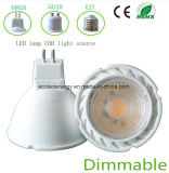 Bulbo do diodo emissor de luz do Ce 3W MR16 de Dimmable