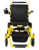 يحمل يعاق منافس من الوزن الخفيف يتيح يطوي قوة كرسيّ ذو عجلات مع [ليثيوم بتّري]