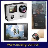 遠隔コントローラが付いている軽量の防水か耐震性V8s WiFi 4kの処置のカメラ