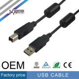 O macho o mais barato do cabo M/M do USB 2.0 de Sipu ao cabo masculino
