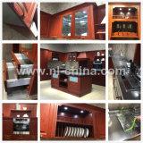 Mobilia di legno della cucina dell'acciaio inossidabile di stile americano di N&L