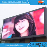 RGB P20 Full Color Outdoor Fixed Publicité Usage LED Display Board Wall