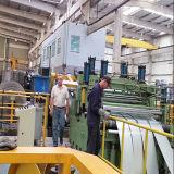 Металлический лист разрезая линию для 8 mm толщино и катушки ширины 1600mm стальной