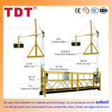 Fábrica ZLP630 aleación de aluminio suspendido plataforma de acceso Cuna Andamio góndola