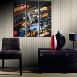 La tela di canapa di Custome della fabbrica stampa la pittura di parete. Pittura della tela di canapa fatta in Cina