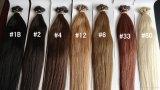 前担保付きのRemyの人間の毛髪1g/Strandの毛のまっすぐなNanoリング100gの多彩なNanoリングの毛の拡張