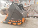 Daewoo Certificado excavadora DX500 2.8cbm Cucharón para roca