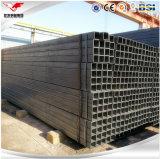 Ms de acero negro Square Tube Hollow Section para la estructura de acero/la construcción/el marco de acero