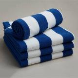 100%年の綿はビーチタオルの製造の供給をカスタマイズした