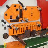 Hydraulischer Hüttenarbeiter, Ausschnitt, Ironwork, lochende Maschine, lochende u. scherende Universalmaschine