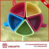 Tazza di caffè di ceramica del triangolo variopinto per il regalo