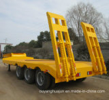 Semitrailer do veículo do portador da máquina escavadora do Gooseneck de 2 eixos