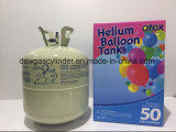 Hélio do tanque de gás por o tempo do balão do partido