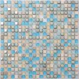 Hohe Qualität von Crystal Mosaik-Fliesen mit ISO9001 (AJJ27C-4)