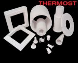 1260 formas de forma de vacío de fibra de cerámica