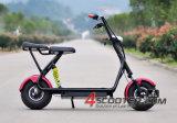 2016 scooter électrique du scooter 800W Citycoco de roue du carbone 2 de nouveaux produits