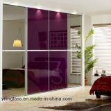 カラー戸棚のためのパターンによって印刷されるドアガラス