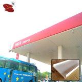 給油所のための耐火性および防風アルミニウムストリップの天井