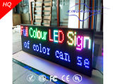 Sinal movente do diodo emissor de luz da mensagem do desdobramento P20 movente ao ar livre