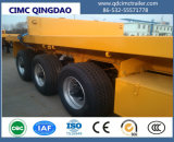 Cimc 3 de BPW dos eixos 40FT do recipiente do leito reboque Semi