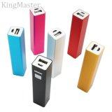 chargeur de batterie mobile portatif extérieur de mini côté du pouvoir 2200mAh