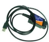 La herramienta de diagnóstico OBD2 del USB de Elm327 OBD2 Elm327 para el interfaz Elm327 de Windows V1.5 (CH340) utiliza todos los protocolos de Obdii