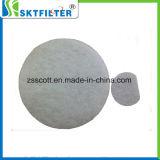 Media calientes del filtro de aire de la fibra sintetizada de la venta cortados en pedazo