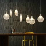 유리제 LED 점화 박쥐 모양 대중음식점을%s 간단한 현대 펀던트 램프