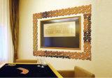 Specchio dell'acrilico della decorazione della priorità bassa della TV