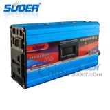 Suoer 1200W 12V 230V 지적인 변경된 사인 파동 힘 변환장치 (SAA-D1200AF)