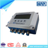 el transductor de varios canales elegante de la temperatura de Profibus-DP 4~20mA/, hizo salir simultáneamente cuatro señales de la temperatura