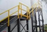 FRP Handlauf/Baumaterial-/Fiberglas-Strichleiter-Jobstepp-Strichleiter