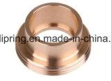 O cobre preciso feito à máquina parte a fábrica chinesa por atacado