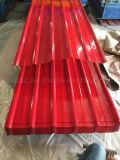Цвет покрыл стальной лист толя сделанный Prepainted гальванизированного стального листа для полуфабрикат здания