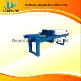 Qualitäts-manuelle Raum-Filterpresse gut für Wasserbehandlung-Filterpresse